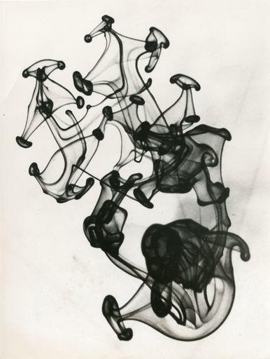 Herbert MATTER - Fotografia - Portrait of an ink drop