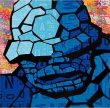 SEEN - Pintura - The thing in Blue
