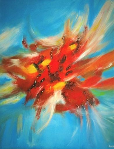 ANVAL - Painting - Envolées lyriques