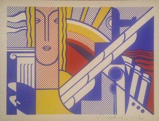 Roy LICHTENSTEIN - Stampa Multiplo - Modern Art Poster