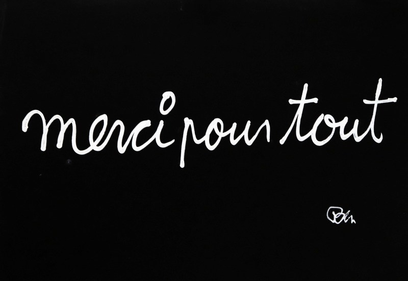 BEN - Painting - Merci pour tout