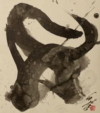 Kazuo SHIRAGA - Drawing-Watercolor - untitled