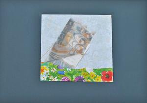Amelia ETLINGER - Disegno Acquarello - Untitled  (Pray)