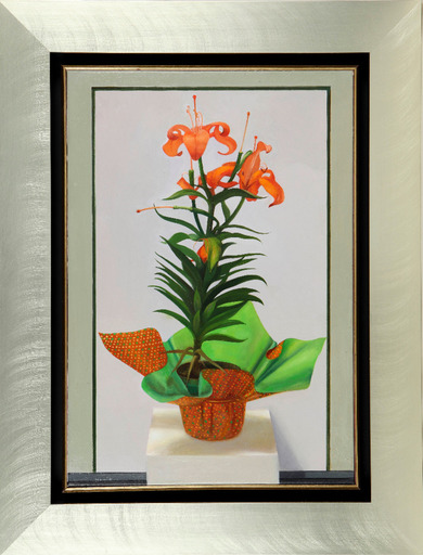 Hovik KOCHINIAN - Pittura - Orange Beauty