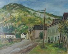 Michael ANCHER - Gemälde -  Village in France