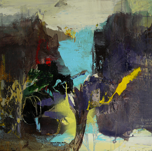 Moris GONTARD - Pittura - Les calanques