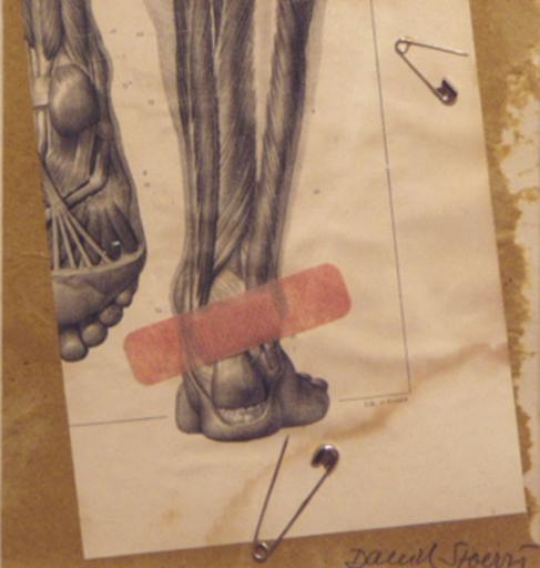 "Daniel SPOERRI - Painting - dalla serie ""Spingole francesi"""