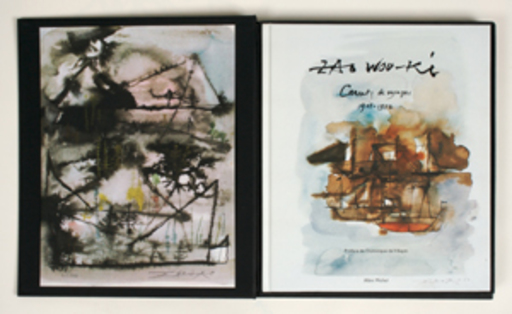 ZAO Wou-Ki - Estampe-Multiple - Carnets de voyages A