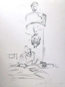 Alberto GIACOMETTI, *Mere et L' Artiste L'isant