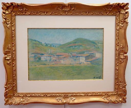 Achille LAUGÉ - Drawing-Watercolor - Alet les Bains
