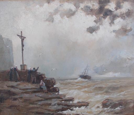 Albert HIRTZ - 绘画 - Le départ