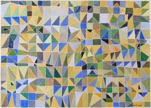 Jérémie IORDANOFF - Dibujo Acuarela - Fenêtre jaune