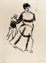 Marc CHAGALL (1887-1985) - Mein Leben, Mutter und Sohn(