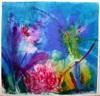 Franz FOHNER-BIHACK - Dibujo Acuarela - Gartenblume