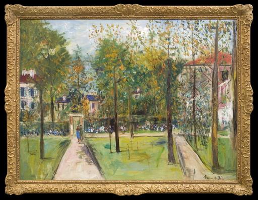Maurice UTRILLO - Gemälde - Le Parc de M. et Mme Utrillo au Vésinet