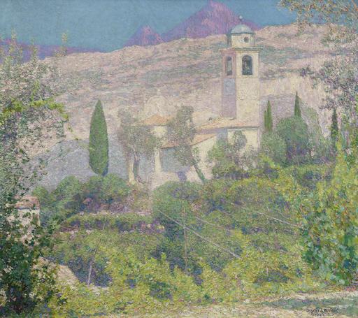 Charles Johann PALMIÉ - Peinture - Torbole am Gardasee
