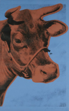 Andy WARHOL - Stampa Multiplo - Cow