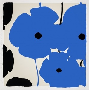 Donald SULTAN - Print-Multiple - Blue Poppies