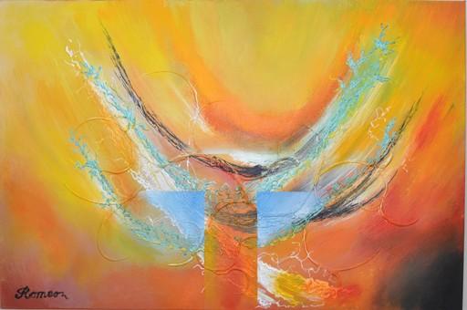 Romeo DOBROTA - Painting - The Sky's Crown,