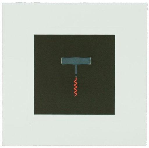 Michael CRAIG-MARTIN - Print-Multiple - The Catalan Suite I - Corkscrew