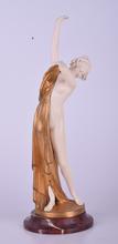 Ernst SEGER - Sculpture-Volume - Untitled (Lady Dressing)