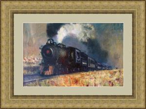 Levan URUSHADZE - Gemälde - Steam train
