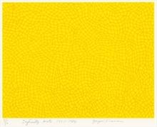 Yayoi KUSAMA - Estampe-Multiple - Infinity Nets