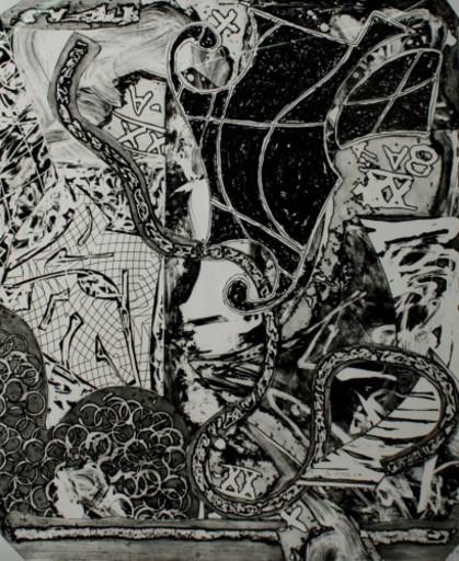 Frank STELLA - Print-Multiple - Engraving IX