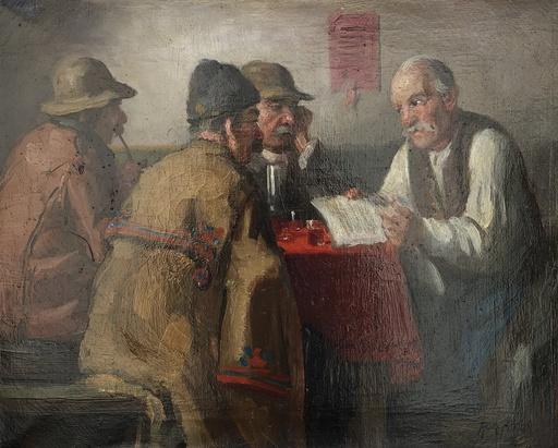 Andor G. HORVATH - 绘画 - La taverne