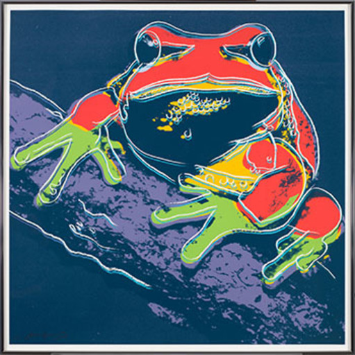 Andy WARHOL - Print-Multiple - Pine Barren Tree Frog