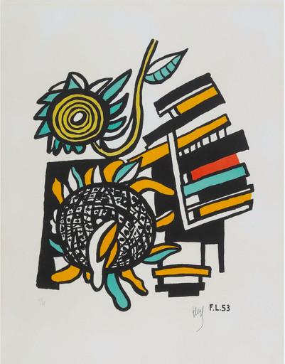 Fernand LÉGER - Print-Multiple - Les deux tournesols