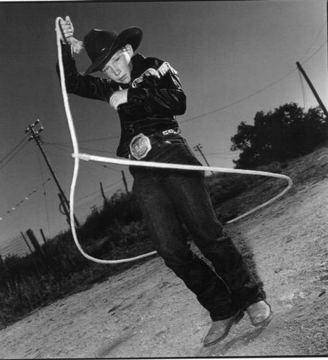 Mary Ellen MARK - Photography - Arles Pearce, Big Spring Rodeo, Texas 1991