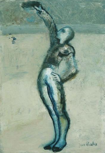 Juan ALCALDE ALONSO - Painting - Brindando el toro