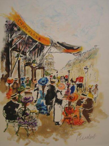 Urbain HUCHET - Estampe-Multiple - Paris:La Capoulade,1985.