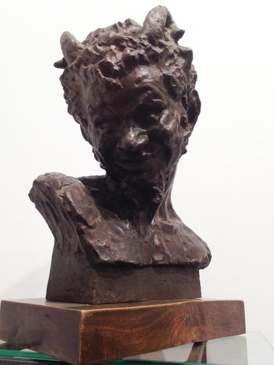 Silvio MONFRINI - Escultura - Testa di Satiro