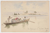 "Ludwig Hans FISCHER - Dibujo Acuarela -  ""Motif of Venice"" Watercolor"