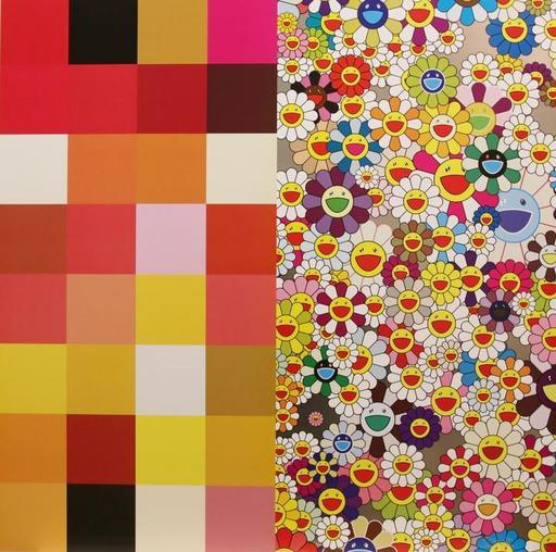 Takashi MURAKAMI - Estampe-Multiple - Acupuncture Flowers