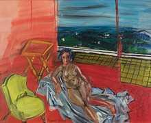 Raoul DUFY - Painting - Nu dans l'Atelier de Vence