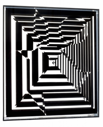 Victor VASARELY - Sculpture-Volume - Yablapur
