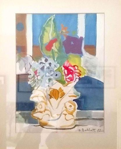 Dina BELLOTTI - Zeichnung Aquarell