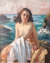 Yves DIEY - Pintura - Bain de Soleil