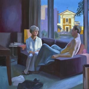 Federico LOMBARDO - Painting - Sacro Cuore