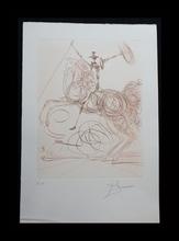萨尔瓦多·达利 - 版画 - Don Quichotte (Horseman)