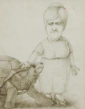 Stanislas LEPRI - Dibujo Acuarela