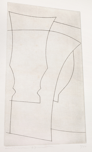 Ben NICHOLSON - Print-Multiple - Jug and Goblet