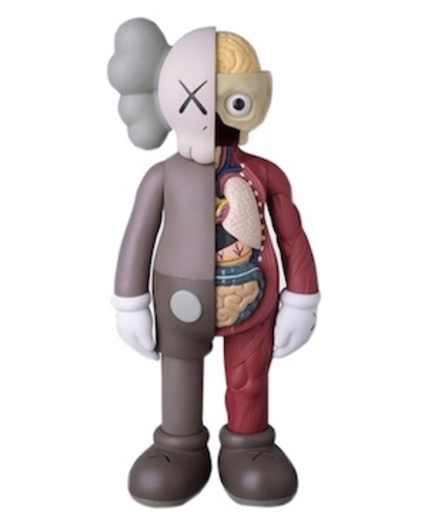 KAWS - Skulptur Volumen - Small Companion Flayed