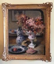 Fernand TOUSSAINT - Painting - Grand Still Life