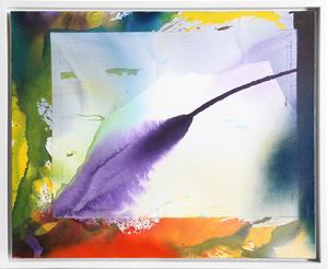 Paul JENKINS - 绘画 - Phenomena West Wind