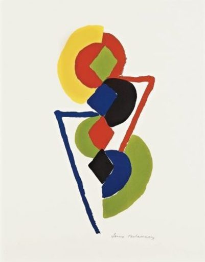 Sonia DELAUNAY - Print-Multiple - Untitled