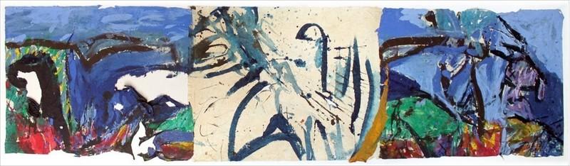 Judith WOLFE - Painting - Marine II